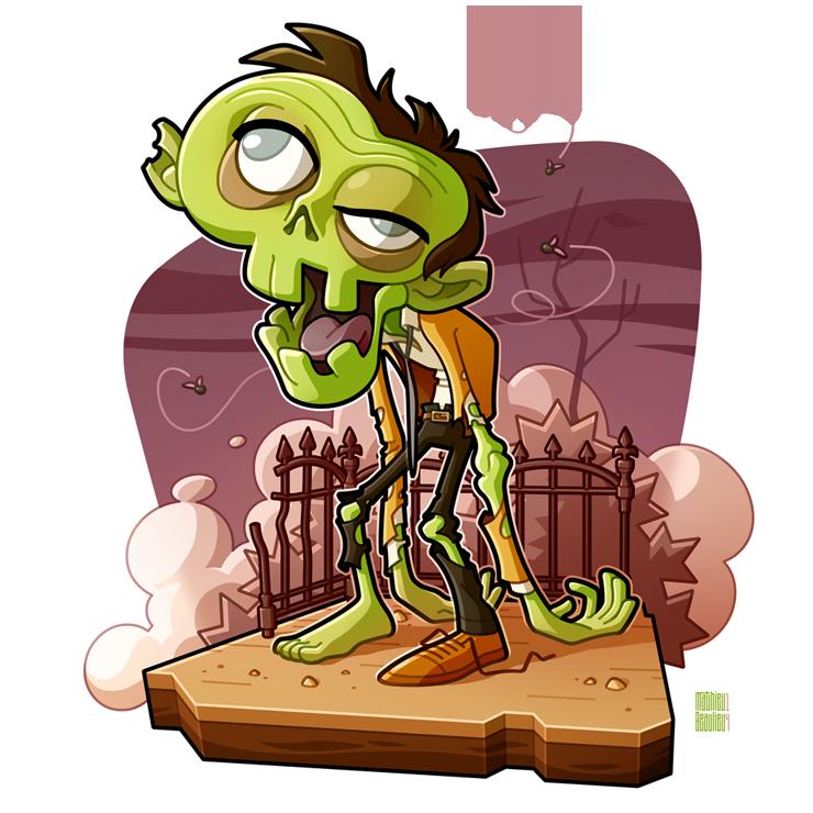 The Zombie by MathieuBeaulieu