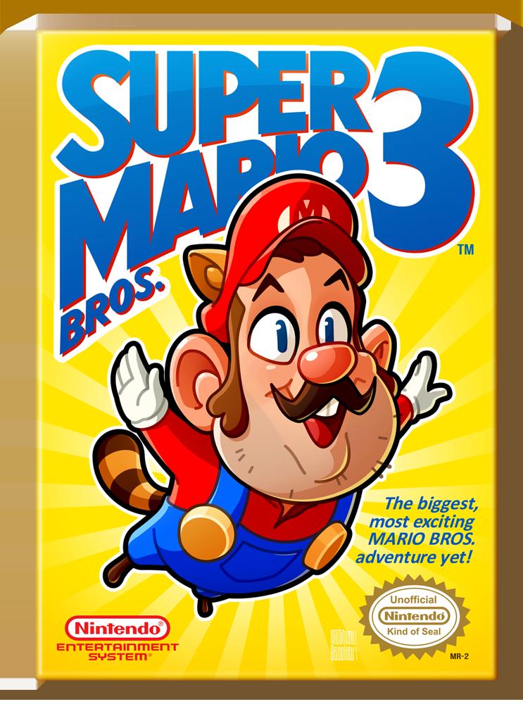 Super Mario Bros. 3 by MathieuBeaulieu