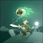 Link VS a Moa