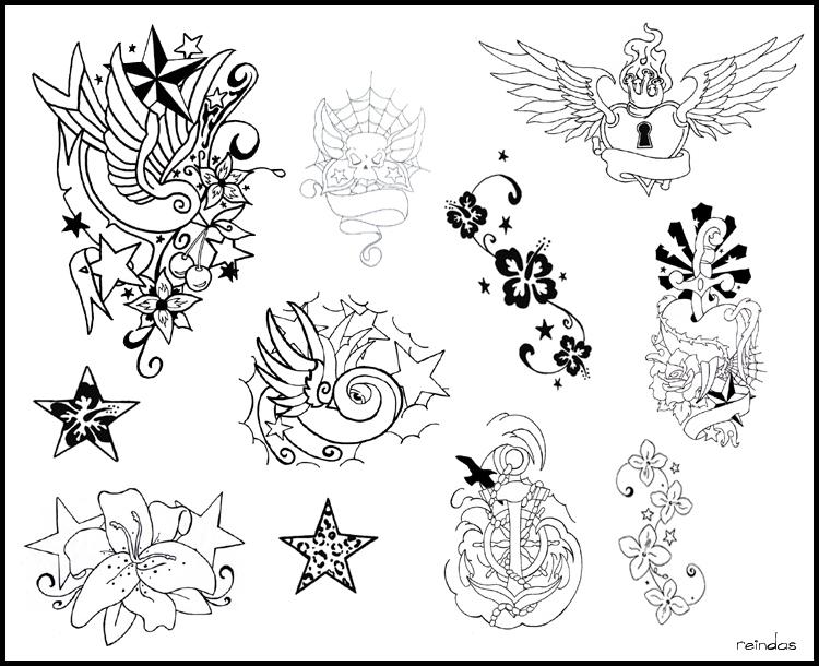 tattoo flash by reindas on deviantart. Black Bedroom Furniture Sets. Home Design Ideas