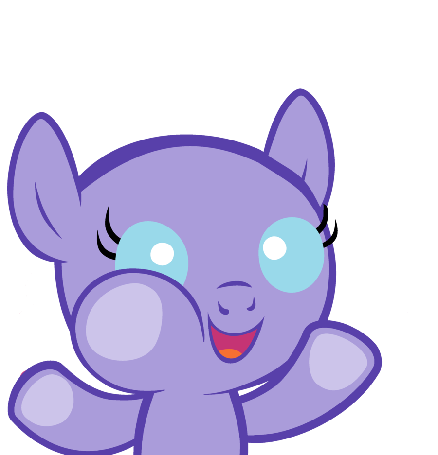 Baby Pony Base Let Me In By Maddielightsp by FTLoie on DeviantArt