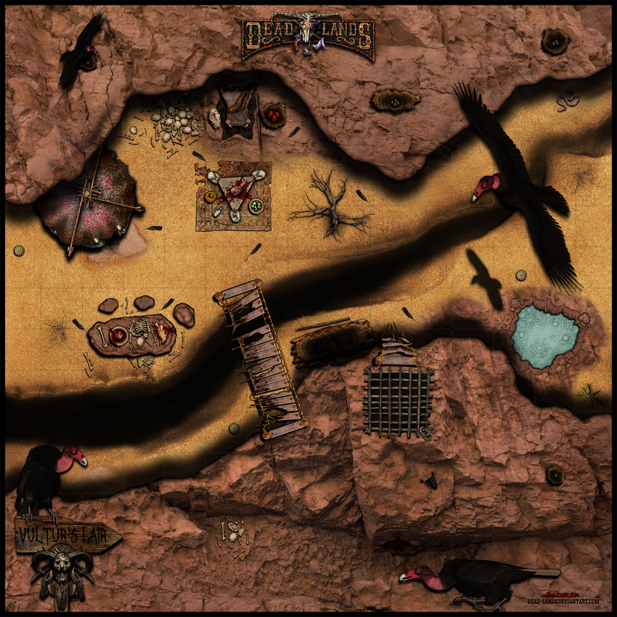 Deadlands Reloaded - The Vultur's Lair by Sadizzm
