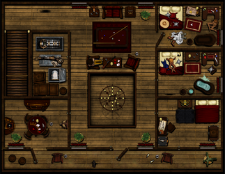 Hard Knocks Saloon and Brothel 2nd Floor V3 by Sadizzm