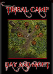 Tribal Camp battle map