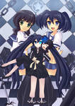 Black Rock Shooter Anime by suzumiyasaito