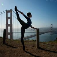 Golden Gate Attitude by rdhobbet