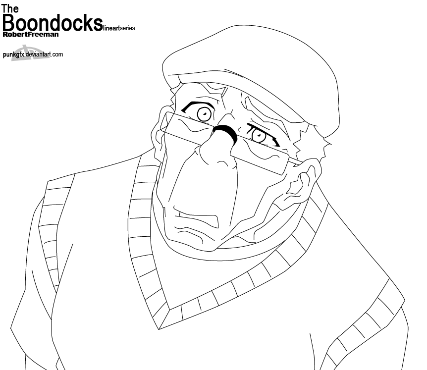 the boondocks riley coloring pages - photo#29