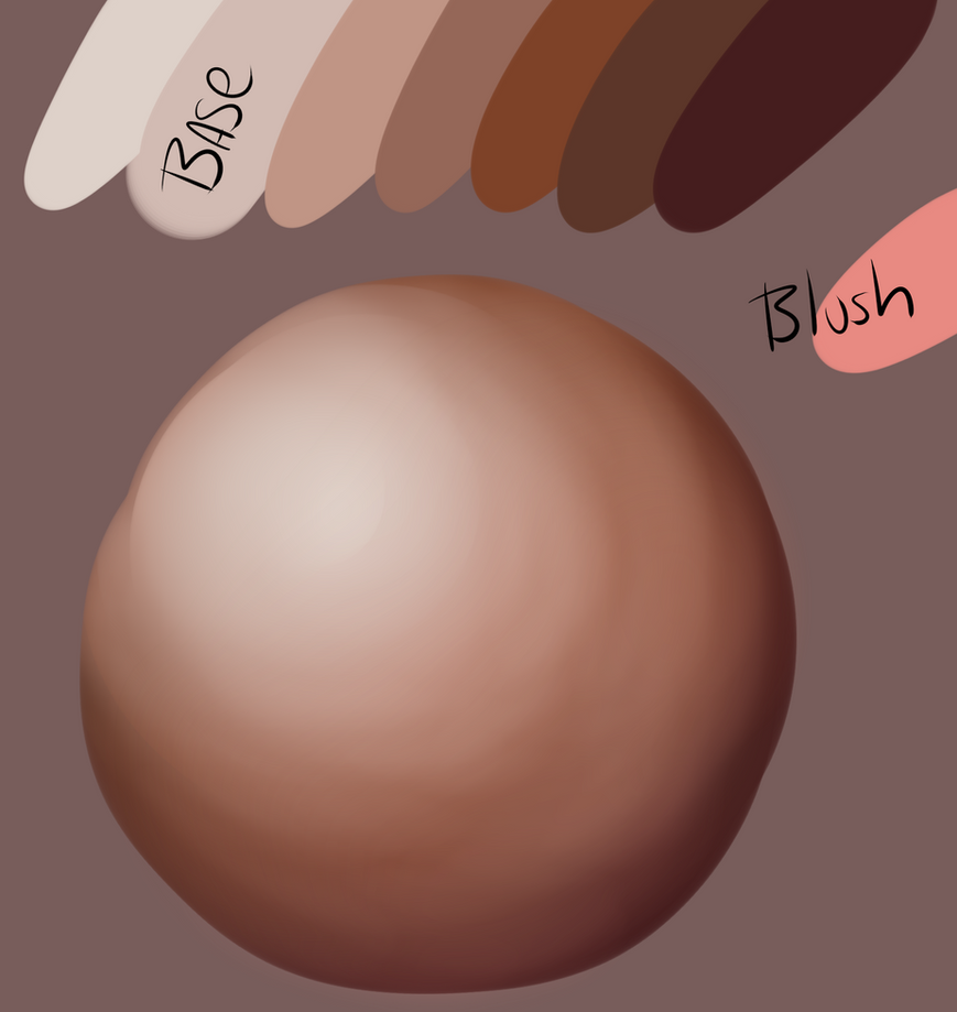 Skin Tones by PetrifiedBerry
