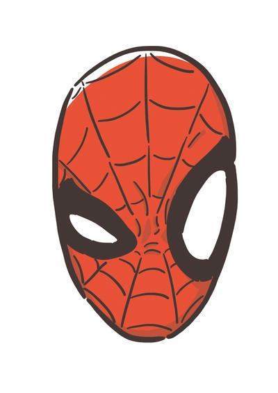 Spiderman's head by LaMargara on DeviantArt