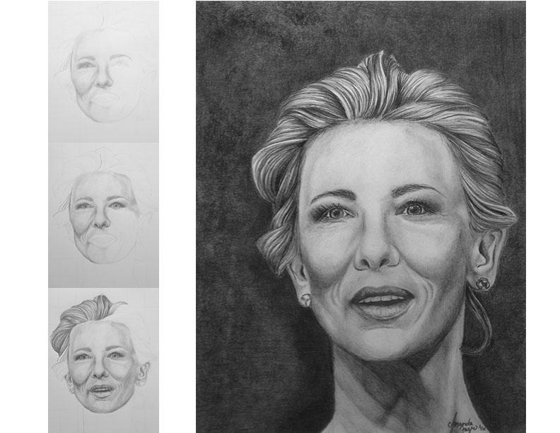 AmandaFager Cate BlanchettCate Blanchett by Auravenia