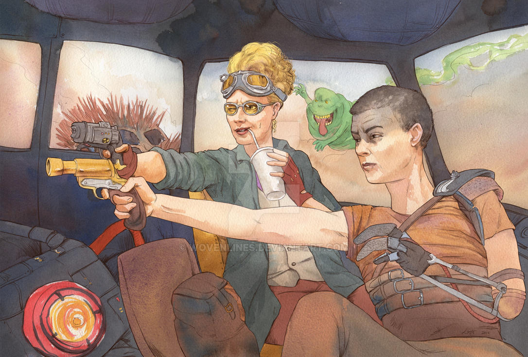 Furiosa Gonna Call... by wovenlines