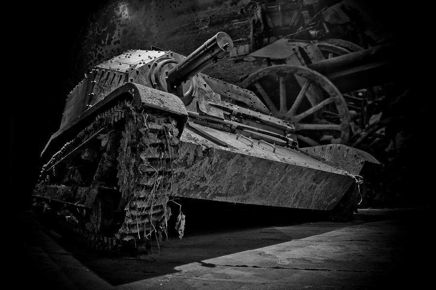 Tankette - Oskar Schindler's Enamel by xbastex