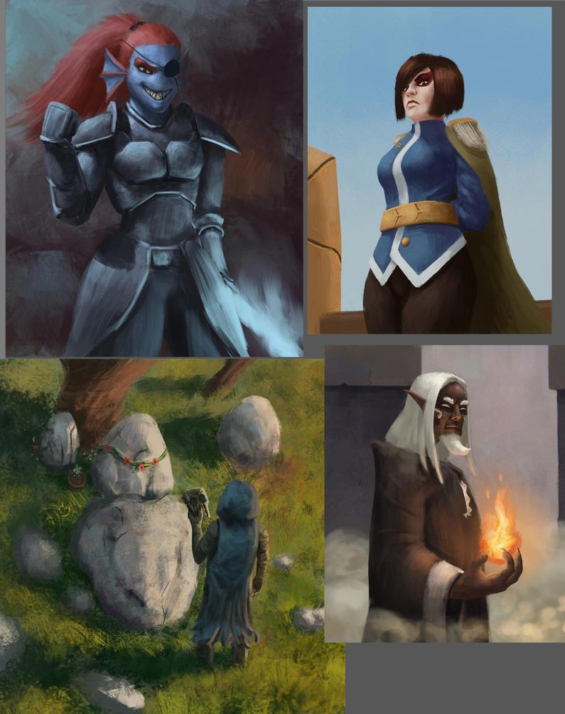 some fanarts by radian1