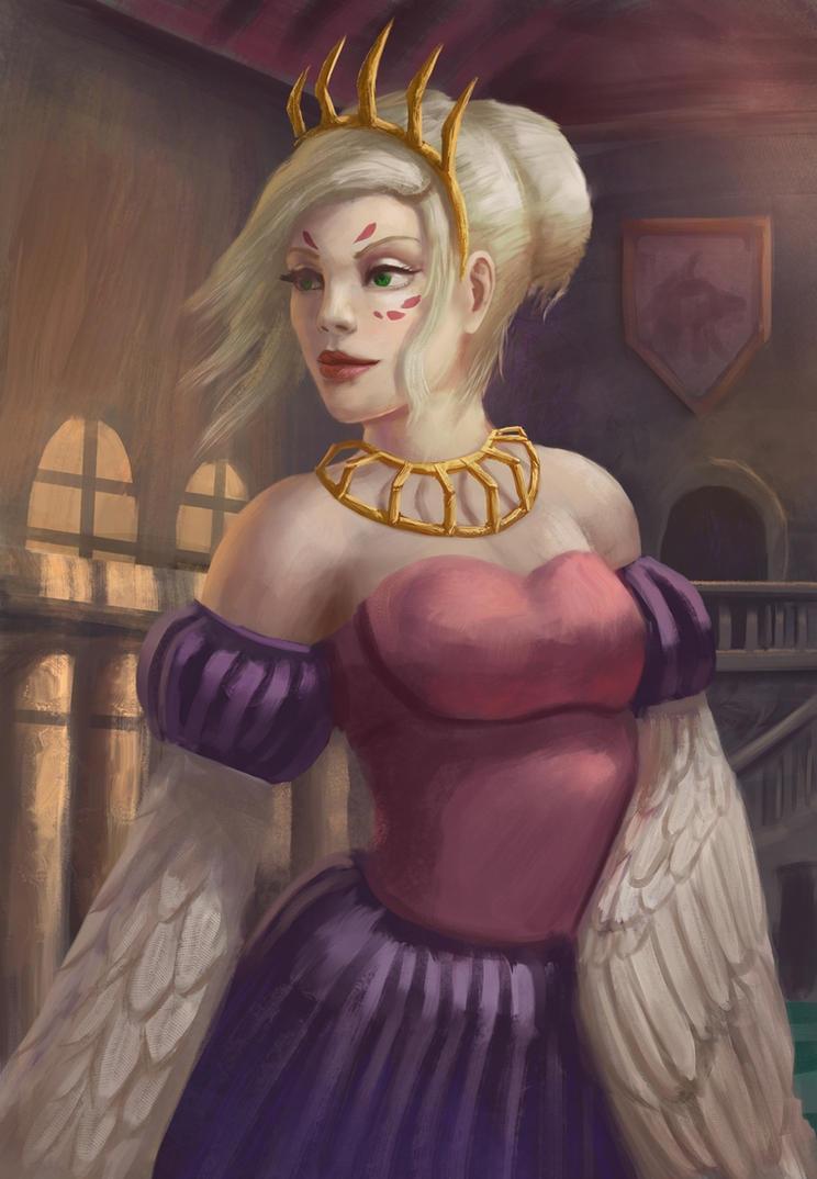 Royal harpy by radian1