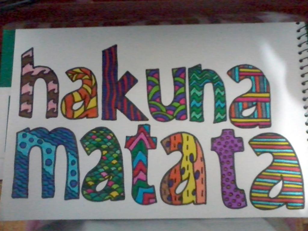 Hakuna Matata (Completed) by Embryo-o