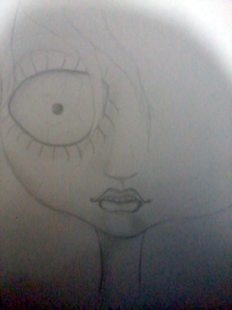Scary (sketch) by Embryo-o