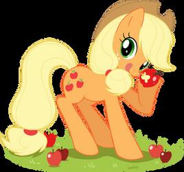 Applejack by Domi-Chan