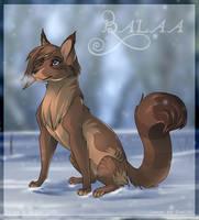 Balaa wolf by Domi-Chan