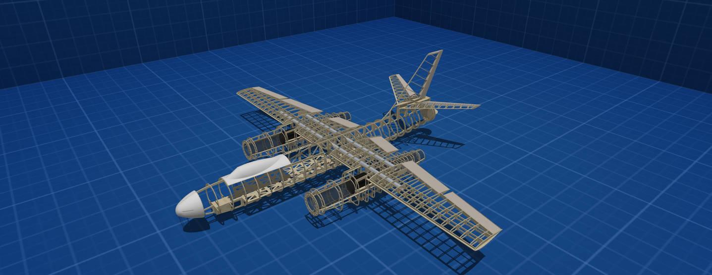 IL 28 lasercut kit for build rc plane by customwings on DeviantArt