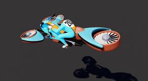 hover bike (gulf racing edition)