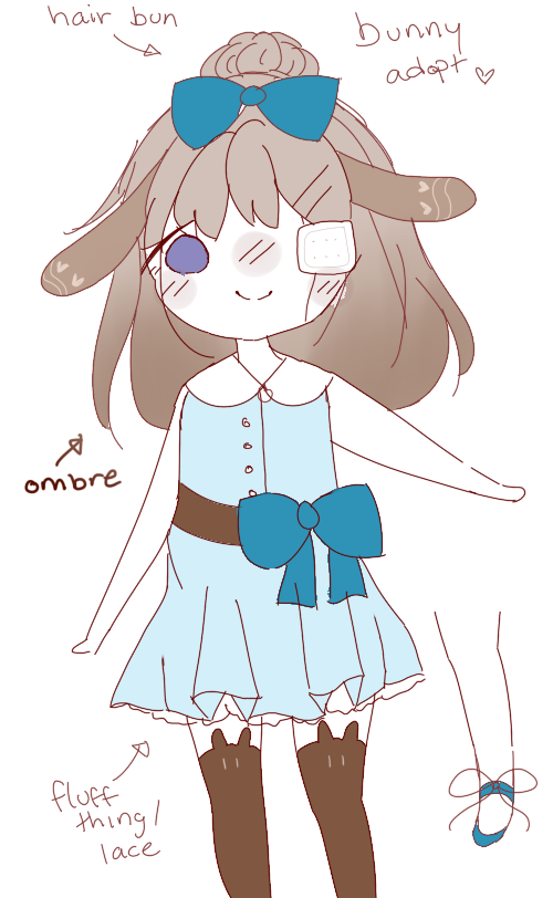 150 points bunny adopt {closed} by Ririmei