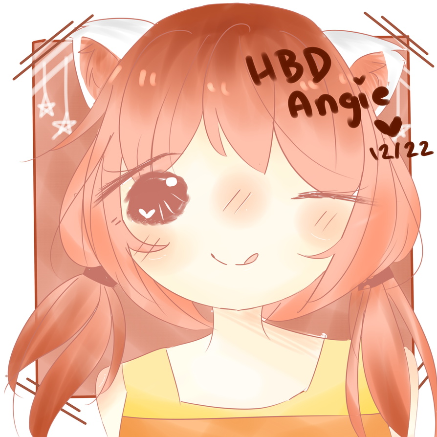 Happy Birthday Angie by Ririmei