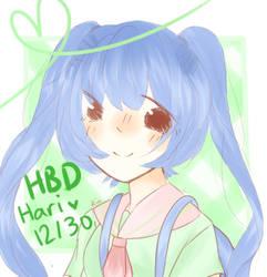 [Happy Birthday] Hariruru by Ririmei