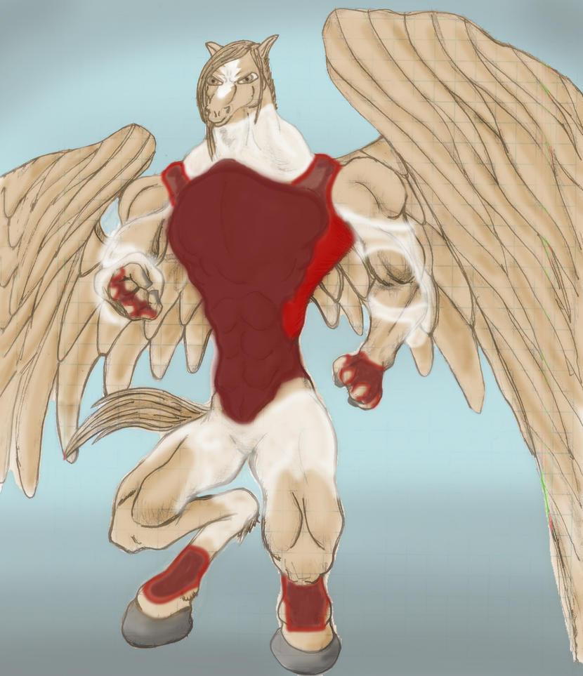 Pegasus Royalty by ArishBava