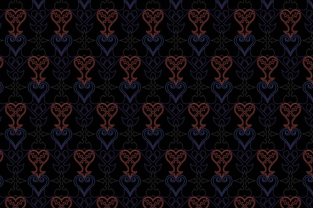 Kingdom Hearts Symbol Pattern By Roflcharger On Deviantart