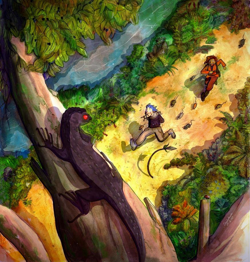 Forest run by Smoludozerka