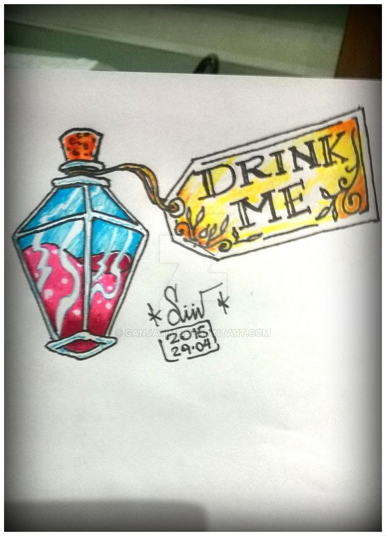 Drink Me by ganjatime