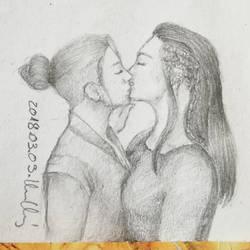 Frst kissus by VsRealm