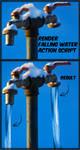Render Falling Water Action