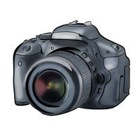 Commission: Canon EOS 600D by Soulkreig