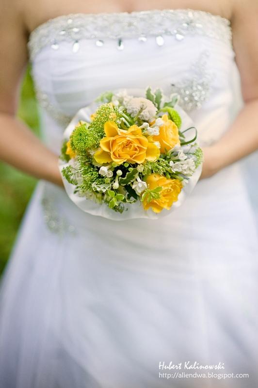 bouquet of flowers by AlieNdwa