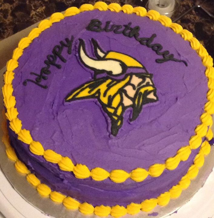 Where To Buy Minnesota Vikings Birthday Cake