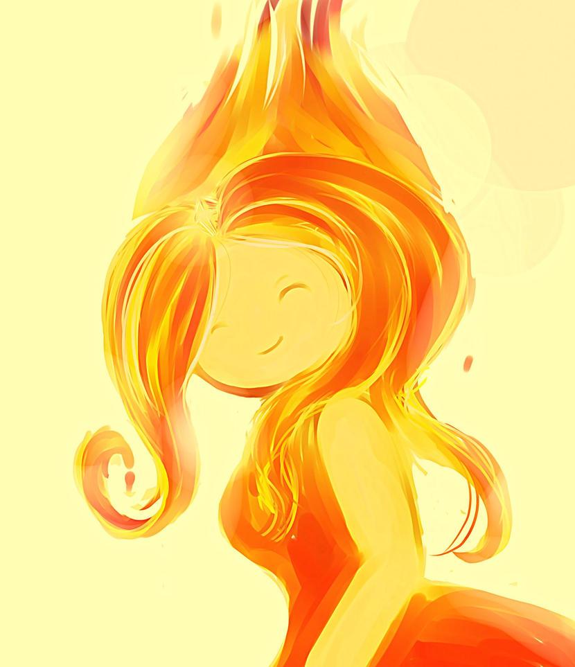 Flame Princess by SaekoNat
