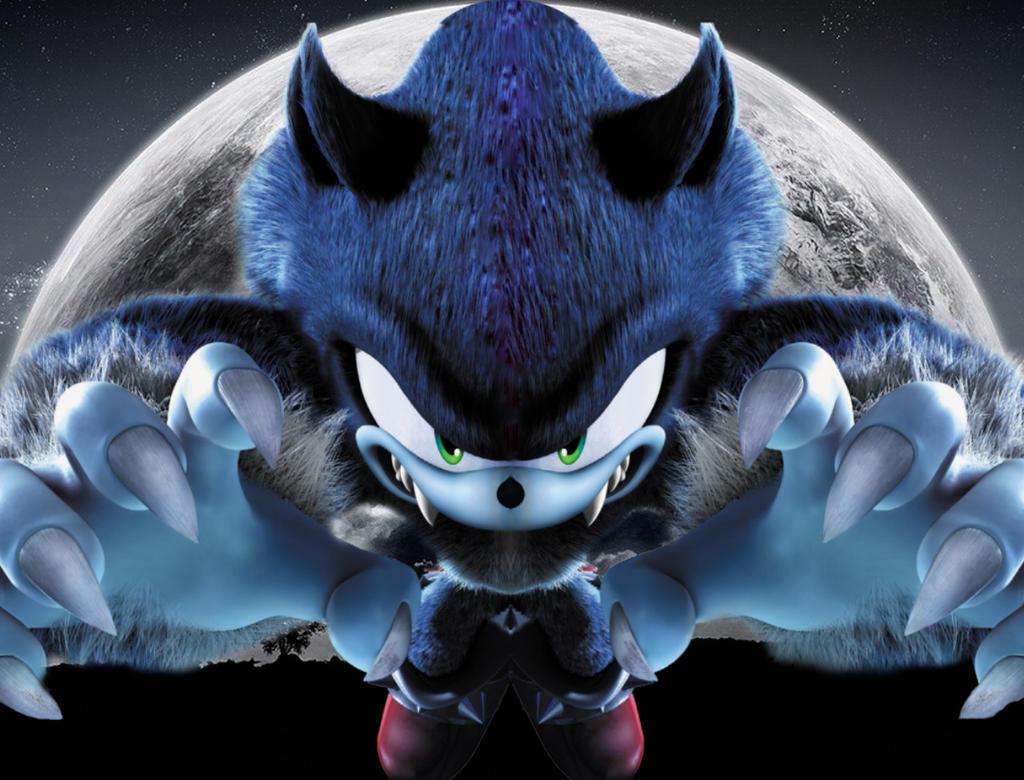 Sonic The Werehog By ShadowTheHedgehog24