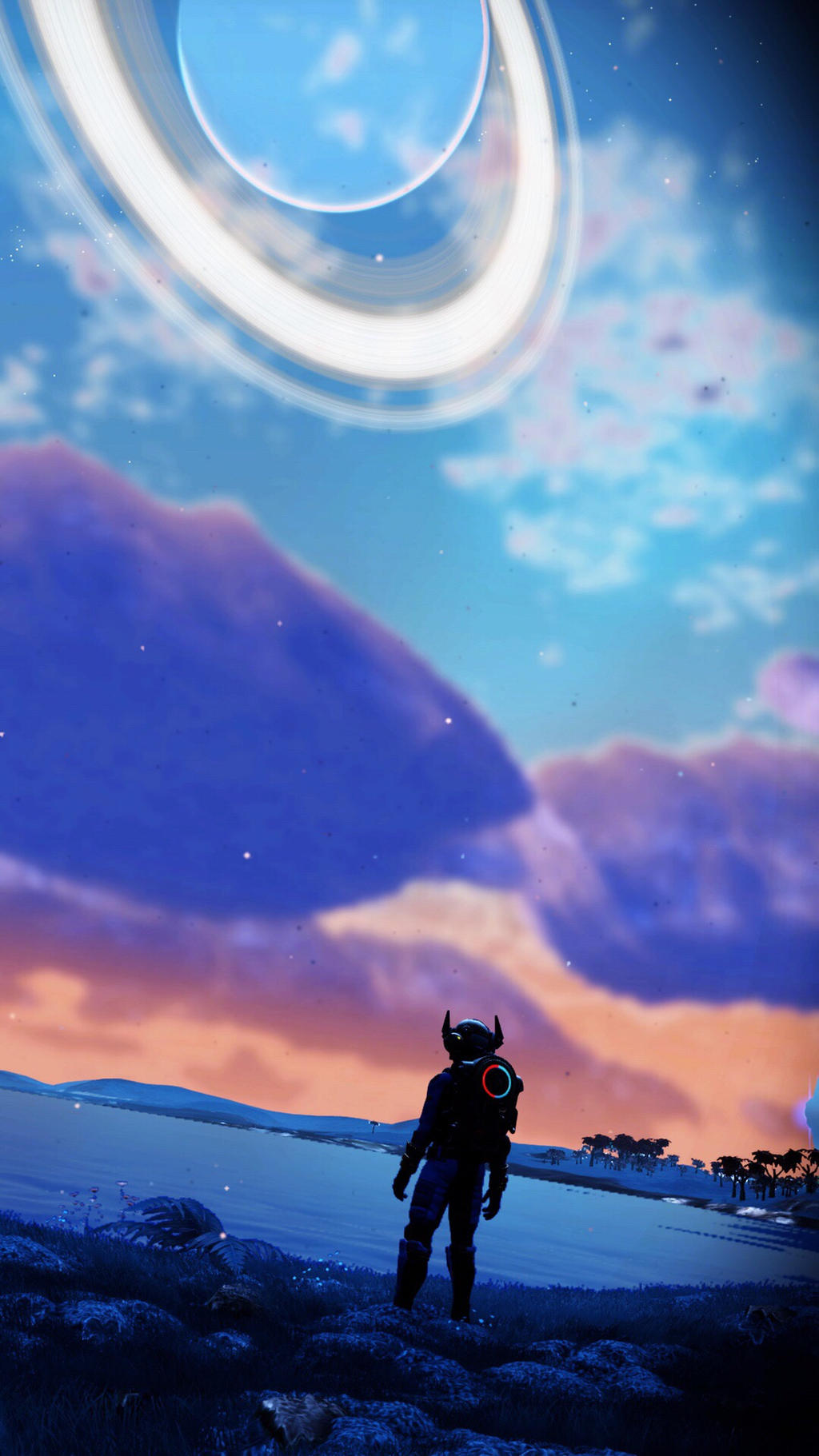 No Mans Sky Next Phone Wallpaper By Shadowthehedgehog24 On Deviantart