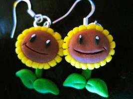Plants vs. Zombies sunflowers by Lunatica-Reiko