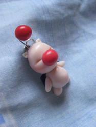 Moogle Necklace by Lunatica-Reiko