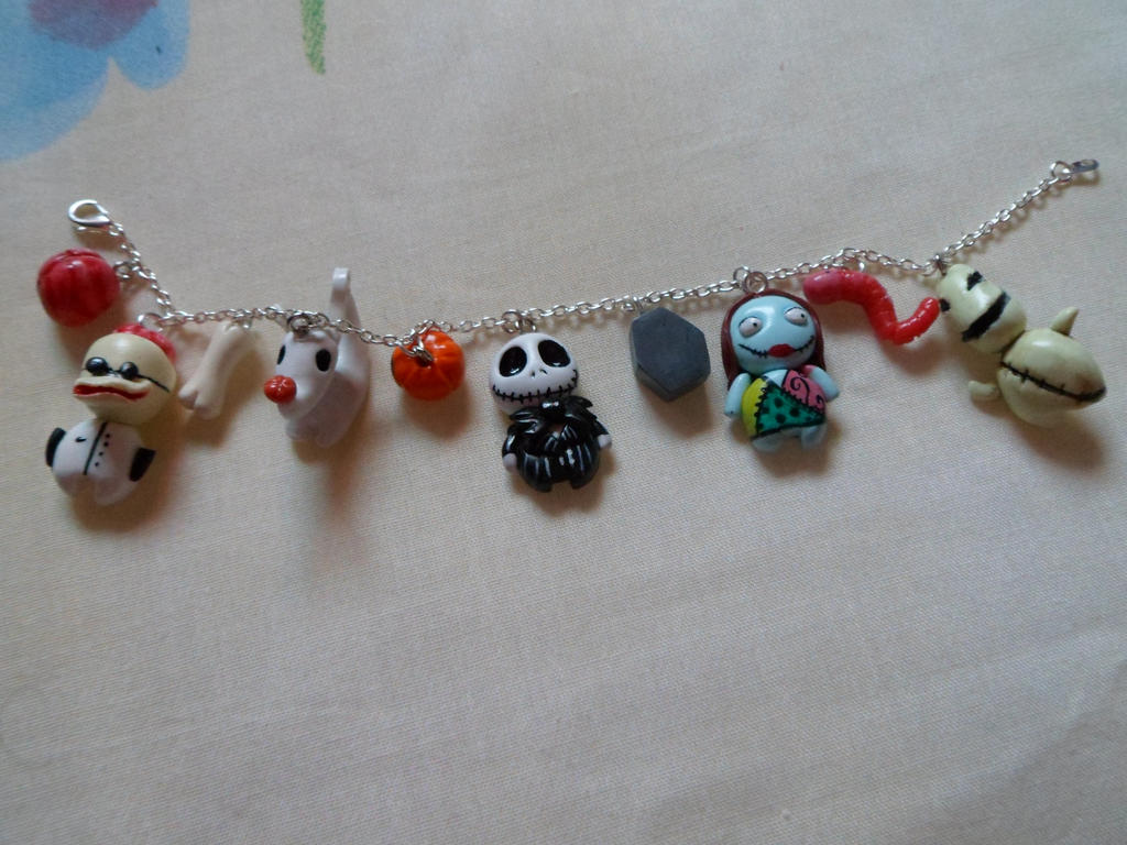Nightmare before christmas bracelet by Lunatica-Reiko on DeviantArt
