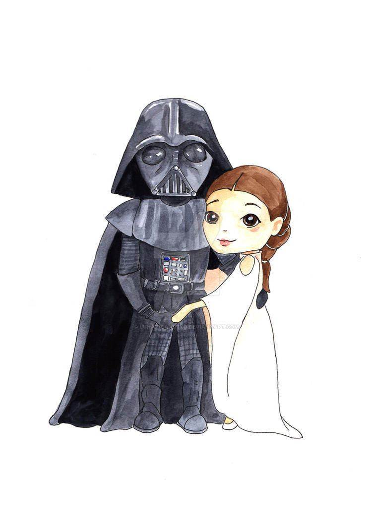 Darth Vader And Padme Amidala By Lunatica Reiko On Deviantart