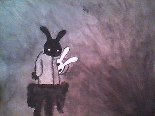 Emo Bunny by RazberryFox