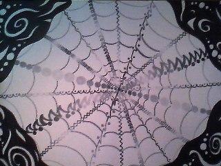 Rare Spider Web by RazberryFox