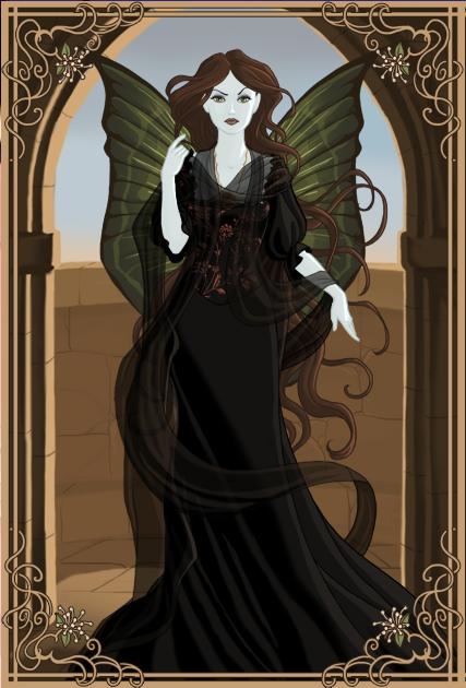My Sleeping Beauty Evil Fairy by musicmermaid on DeviantArt