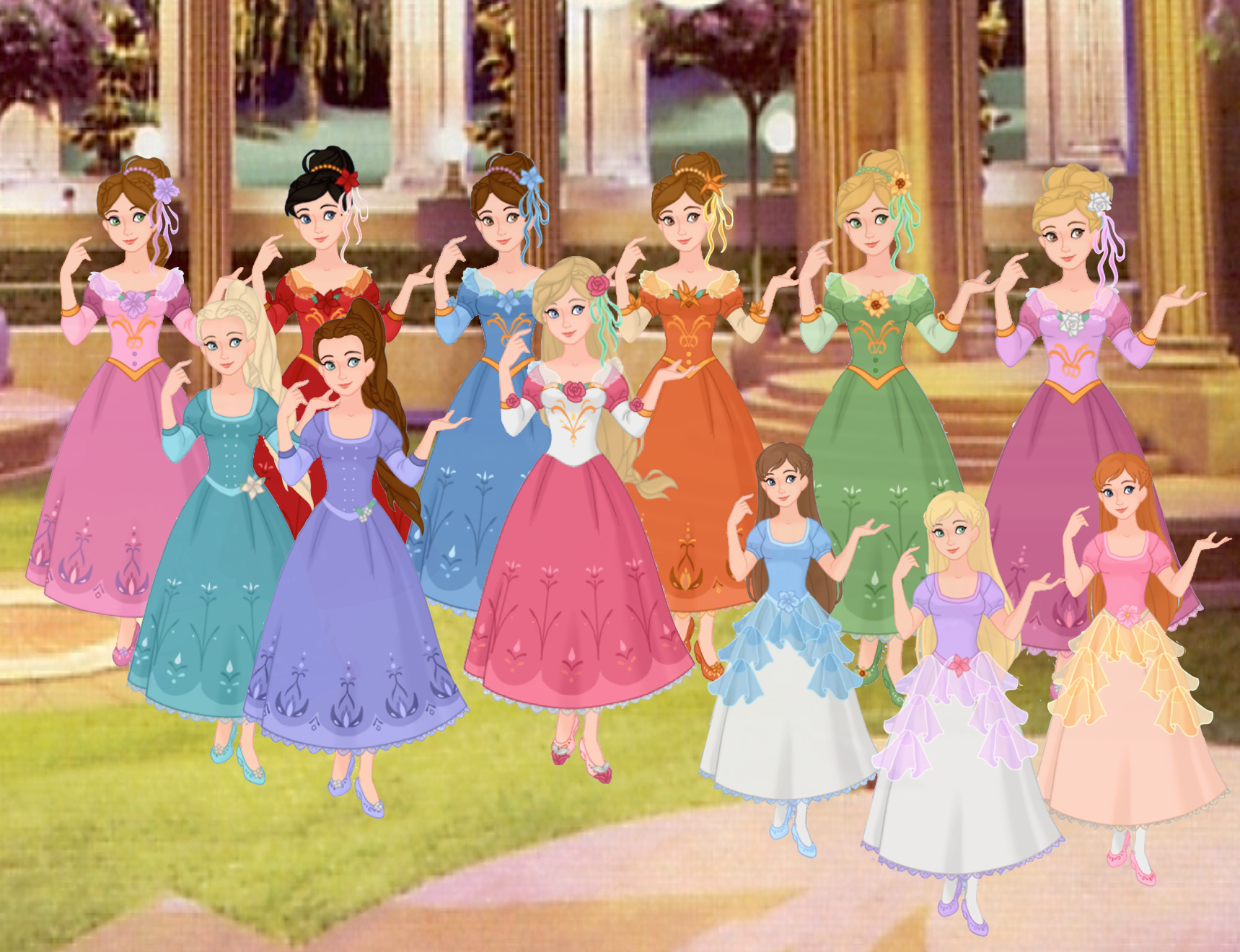 Barbie The 12 Dancing Princesses By Musicmermaid On Deviantart