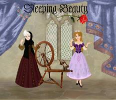 My Sleeping Beauty: Illustration 1 by musicmermaid