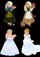 Disney vs. Fairytale Cinderella by musicmermaid