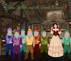 My Snow White and the Seven Dwarfs: Illustration 1 by musicmermaid